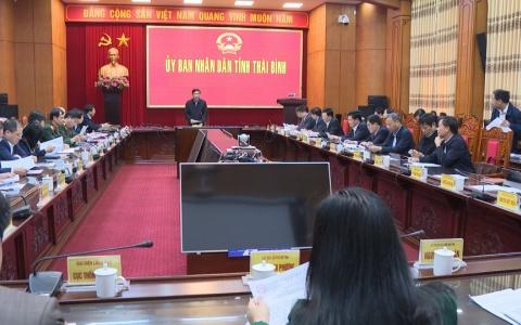 Đề nghị xét, công nhận thành phố Thái Bình hoàn thành nhiệm vụ xây dựng nông thôn mới