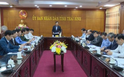 Họp Hội đồng thi đua khen thưởng tỉnh Thái Bình