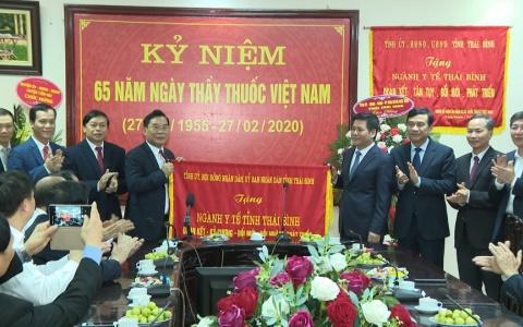 Chúc mừng 65 năm Ngày Thầy thuốc Việt Nam