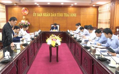 Tháo gỡ khó khăn thi công tuyến đường ven biển tỉnh Thái Bình