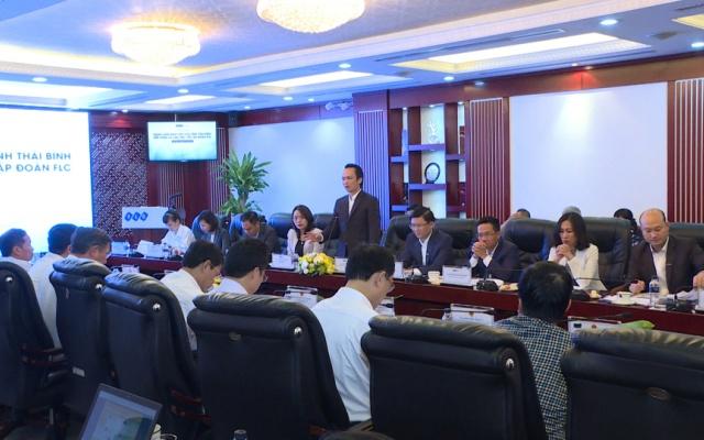 Tỉnh Thái Bình làm việc với tập đoàn FLC