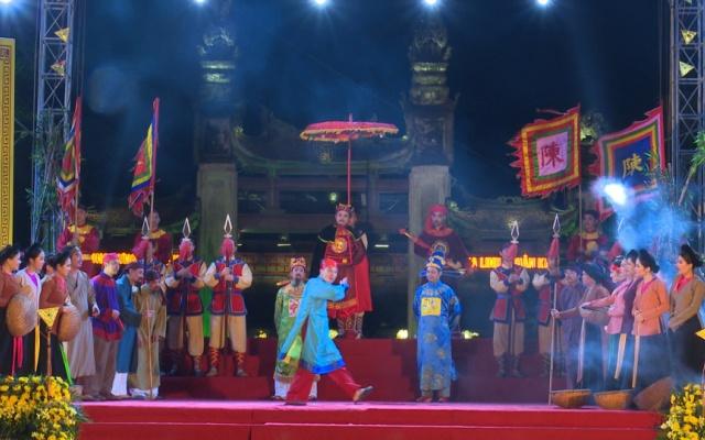 Khai mạc lễ hội đền Trần Thái Bình năm 2019