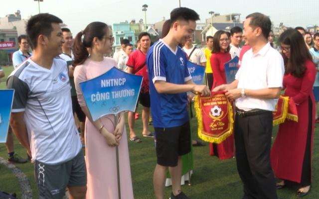 Giải bóng đá ngân hàng Thái Bình 2019