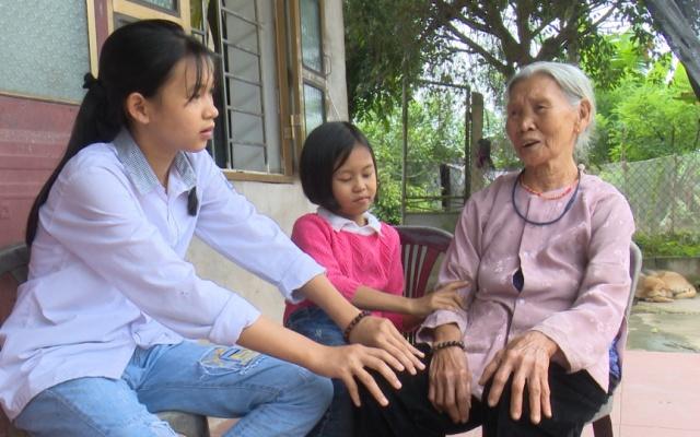 Hoàn cảnh khó khăn của cô bé mồ côi mẹ - Lưu Thị Phương Anh