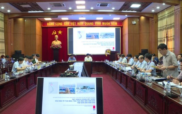 Quy hoạch chung Xây dựng Khu kinh tế Thái Bình