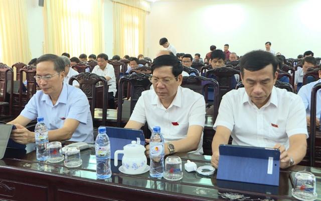 Tập huấn kỹ năng sử dụng phần mềm ứng dụng cho đại biểu HĐND tỉnh