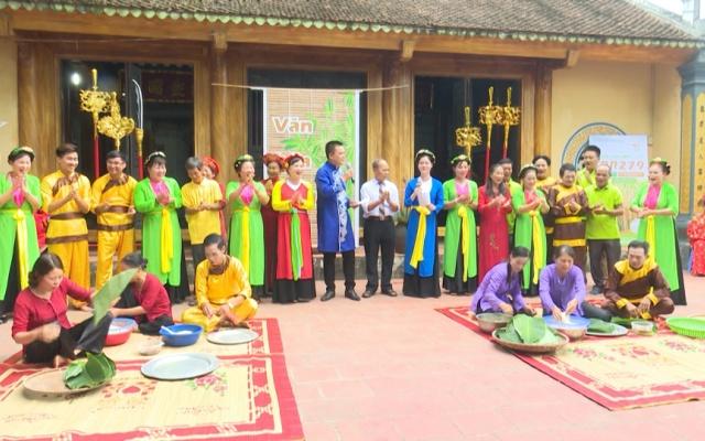 Sân chơi văn hóa làng tại xã Thăng Long huyện Đông Hưng