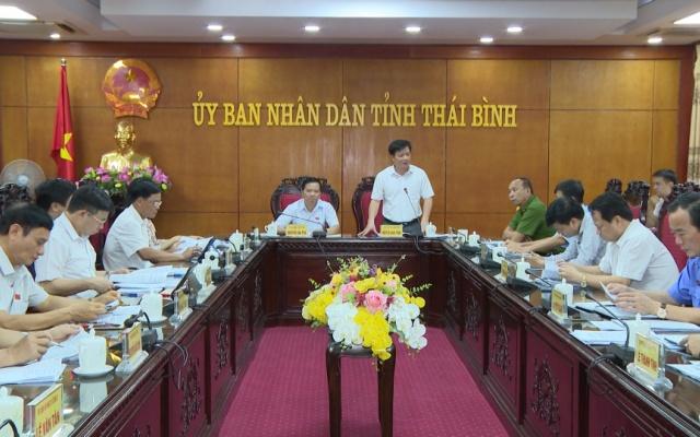 Khảo sát tình hình chấp hành pháp luật tại Thái Bình