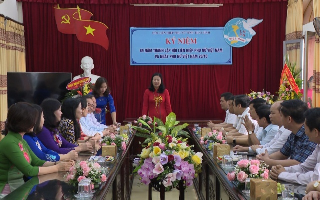 Chúc mừng 89 năm ngày thành lập Hội Liên hiệp Phụ nữ Việt Nam