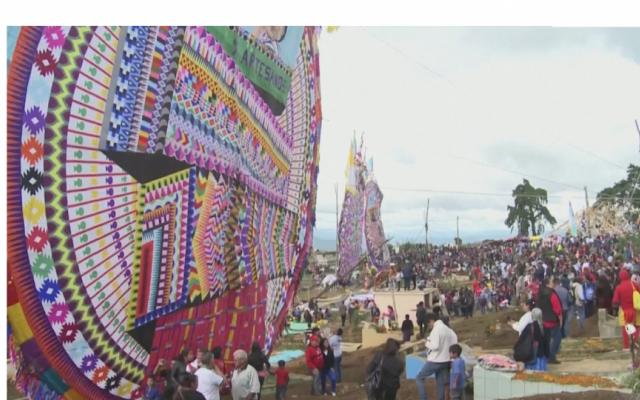 Lễ hội thả diều tại Guatemala