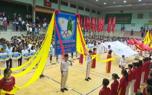 Khai mạc Hội khỏe Phù Đổng cấp tỉnh Thái Bình lần thứ X năm 2020