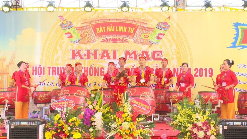 Khai mạc lễ hội truyền thống đền Đồng Bằng