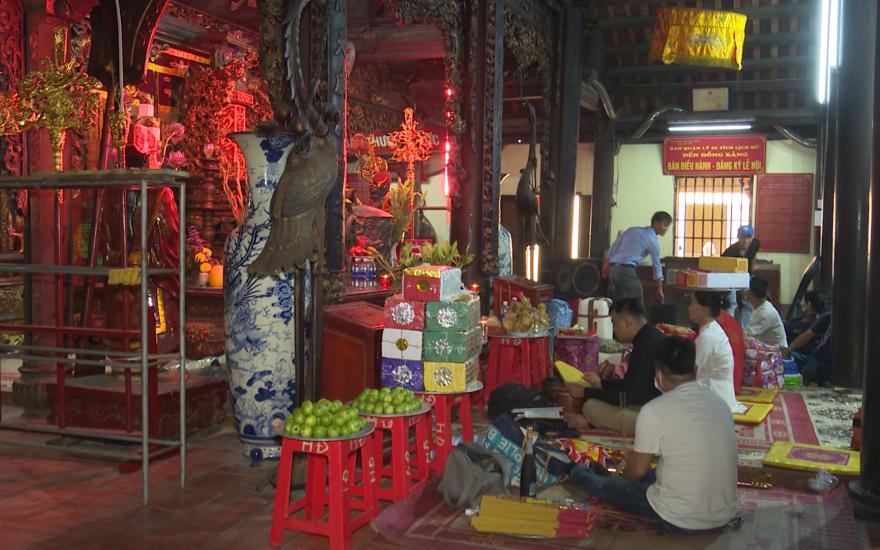 Thái Bình: Các di tích mở cửa trở lại đón khách